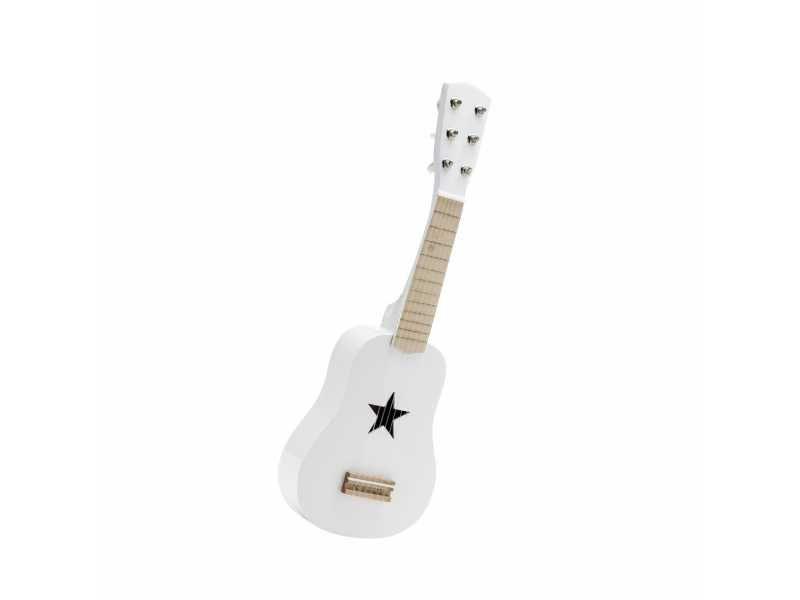 Kytara dřevěná bílá, Kids Concept