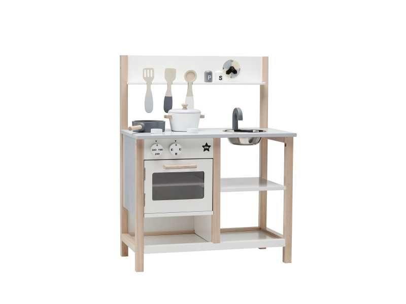 Kuchyňka dřevěná Natural White Bistro, Kids Concept