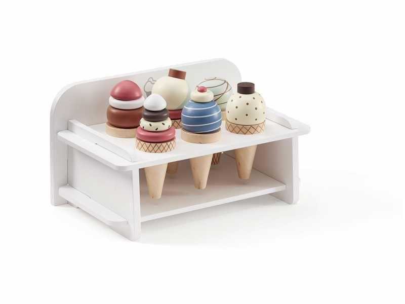 Zmrzlina dřevěná se stojanem Bistro, Kids Concept