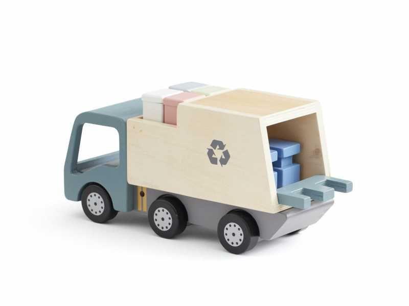 Popelářský vůz Aiden dřevěný, Kids Concept