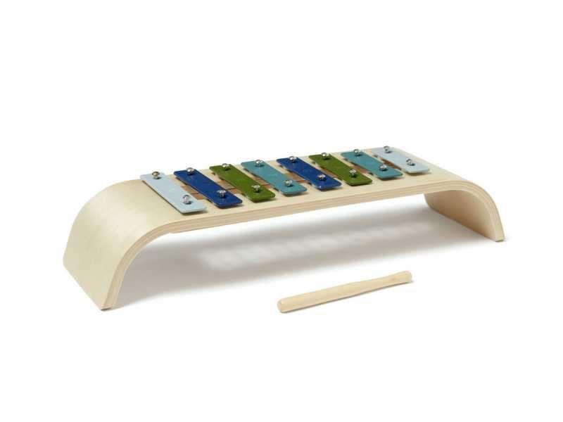 Xylofon dřevěný Blue, Kids Concept