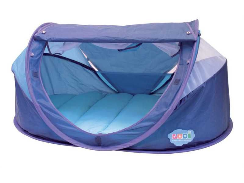 Stan pro miminko anti-UV Nomad modrý, Ludi