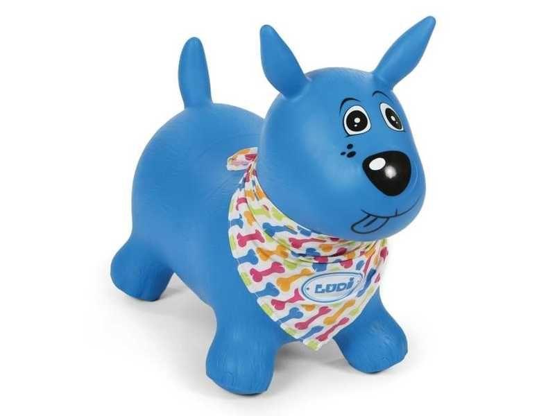 Skákací pes modrý, Ludi