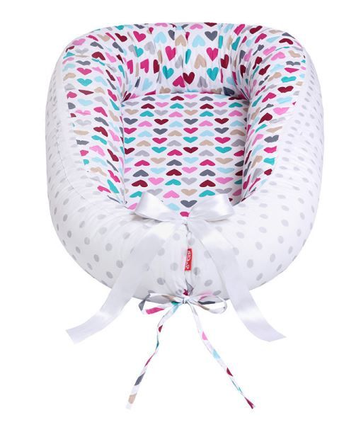 Hnízdo pro miminko soft, ColorfulHeart Scamp