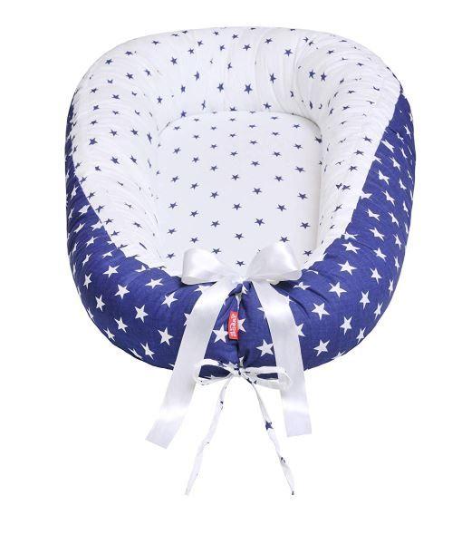 Hnízdo pro miminko soft, ManhattanBlue Scamp