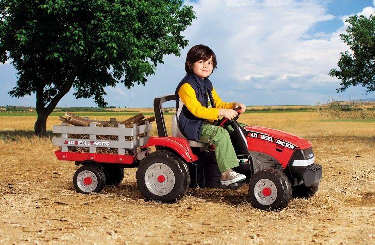 Dětská šlapací vozítko Maxi Diesel Tractor Peg Perego