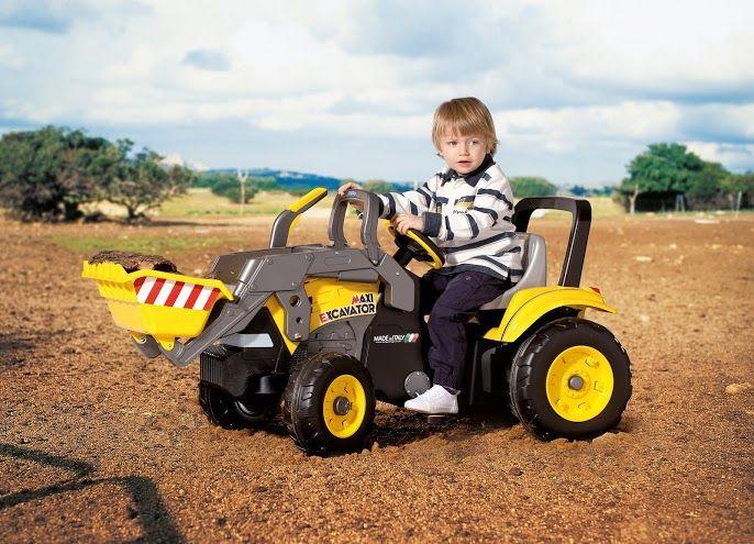 Dětská šlapací vozítka Maxi Excavator Peg Perego