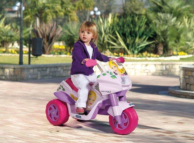 Dětské elektrické vozítko Raider Princess Peg Perego