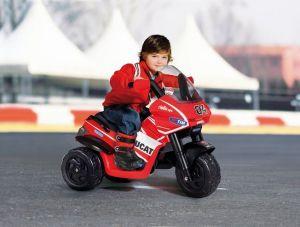Dětské elektrické vozítko Desmosedici