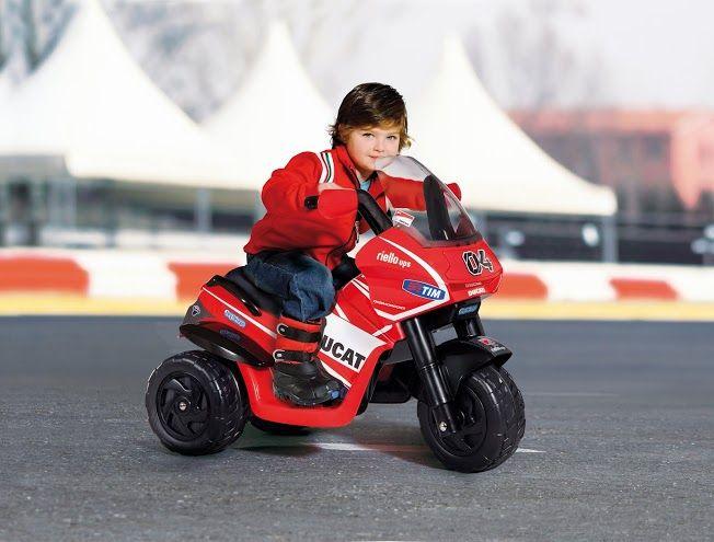Dětské elektrické vozítko Desmosedici Peg Perego