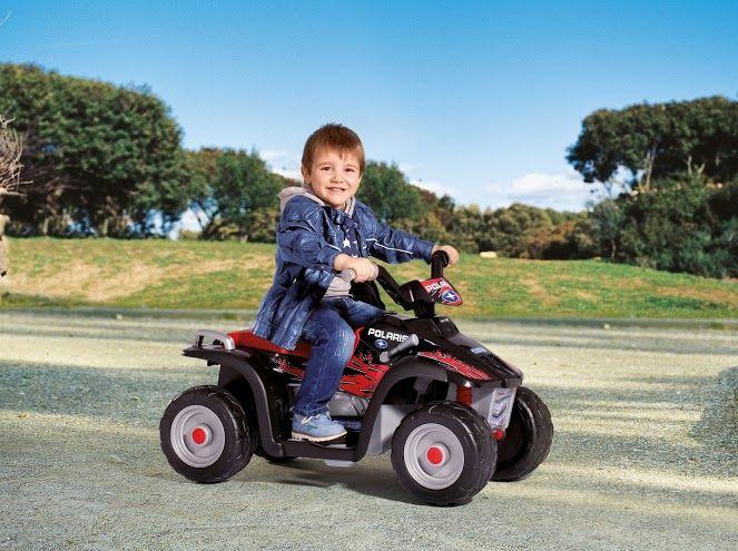 Dětské elektrické vozítko Polaris Sportsman 400 Peg Perego