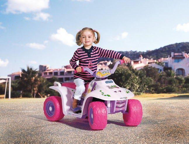 Dětské elektrické vozítko Quad Princess Peg Perego
