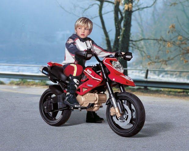 Dětské elektrické vozítko Ducati Hypermotard Peg Perego