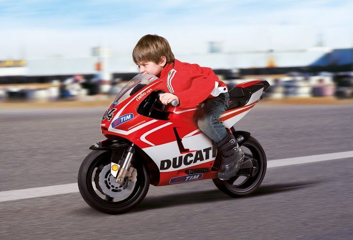 Dětské elektrické vozítko Ducati GP Peg Perego
