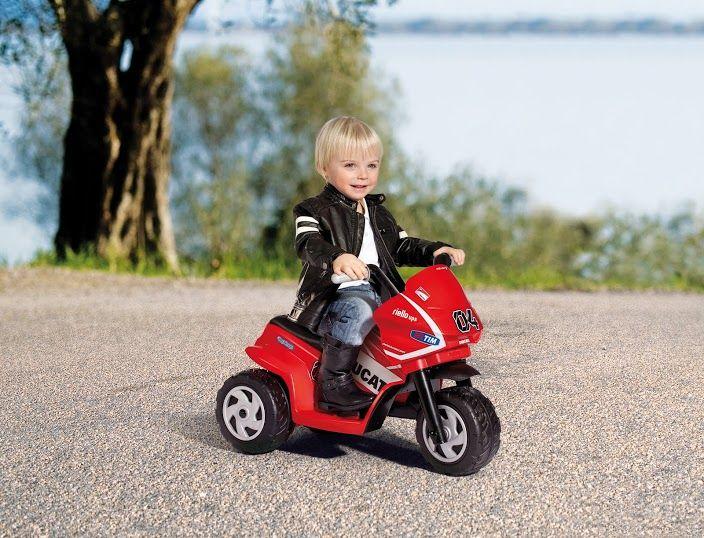 Dětské elektrické vozítko Mini Ducati Peg Perego