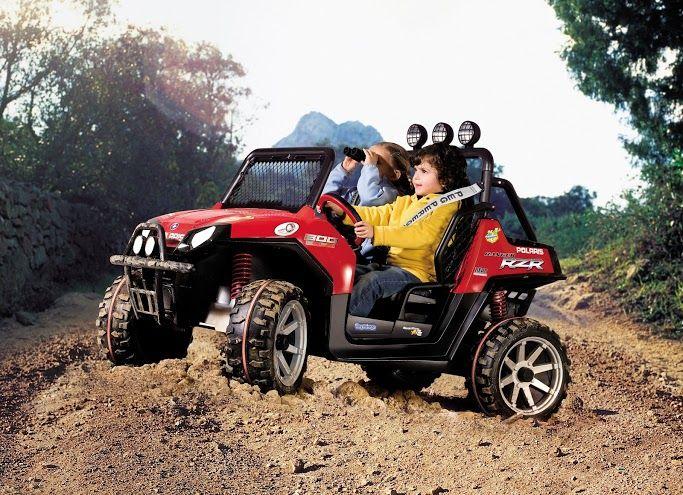 Dětské elektrické vozítko Polaris Ranger RZR Peg Perego