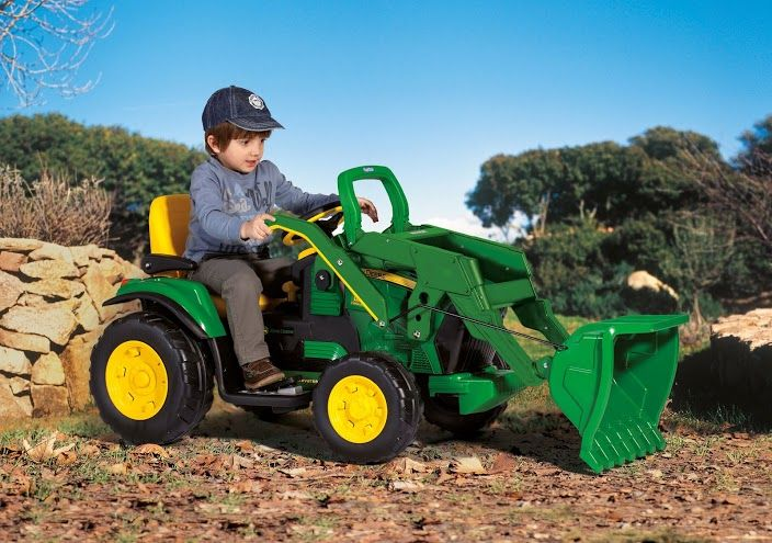 Dětské elektrické vozítko John Deere Ground Loader Peg Perego