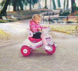 Dětská šlapací vozítko Cucciolo Pink
