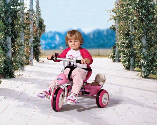 Dětská šlapací vozítko Trillo Girl Peg Perego