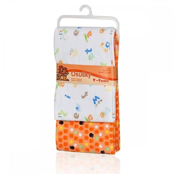 Látkové osušky orange/oranžová T-tomi