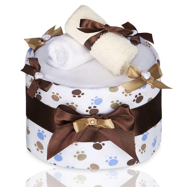 Plenkový dort Large White Paws/velké bíle tlapky, T-tomi