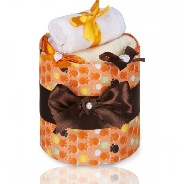 Plenkový dort ECO LUX Small Orange Paws/oranžové tlapky, T-tomi