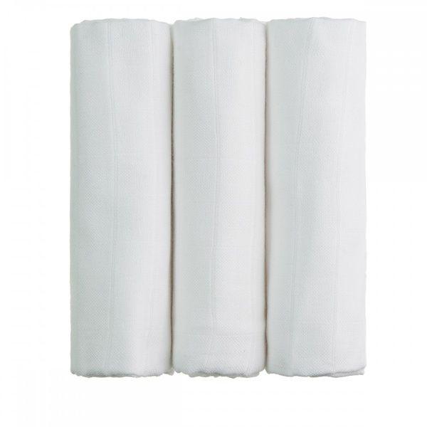 BIO Bambusové pleny White/bílá T-tomi
