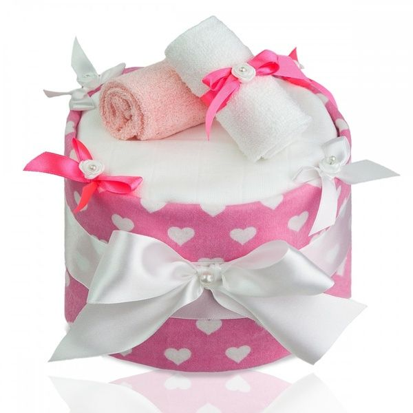 Plenkový dort ECO - LUX Large Hearts/velklá srdíčka, T-tomi
