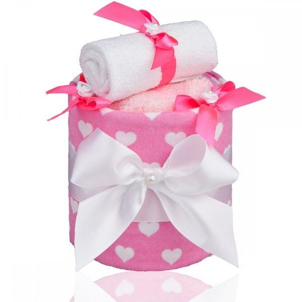 Plenkový dort ECO LUX Small Hearts/malá srdíčka, T-tomi