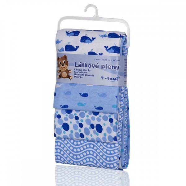 Látkové pleny, Blue whales/modré velryby, T-tomi