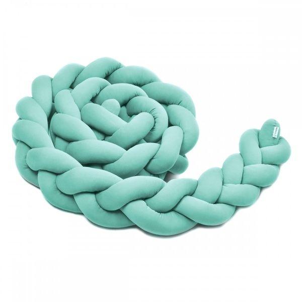Pletený mantinel 360cm, Mint, T-tomi