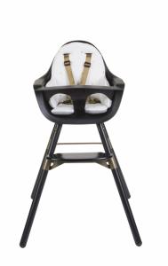 Sedací podložka do židličky Evolu Jersey Gold Dots, Childhome