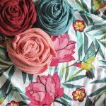 Bambusová mušelínová plena, Flowery Grace Tommy Lise